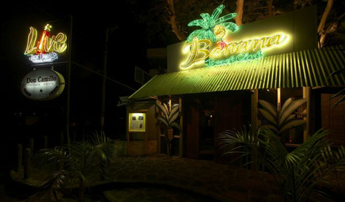 Mauritius beach bar