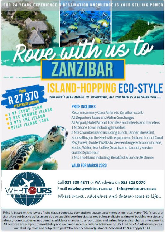 Island-Hopping Eco Style – Valid for Mar '20