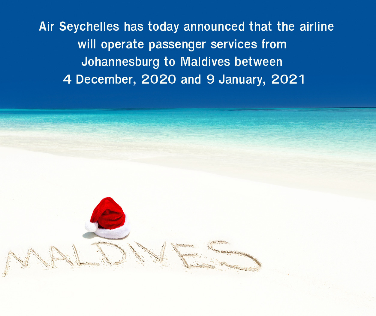 Air Seychelles is off to the Maldives