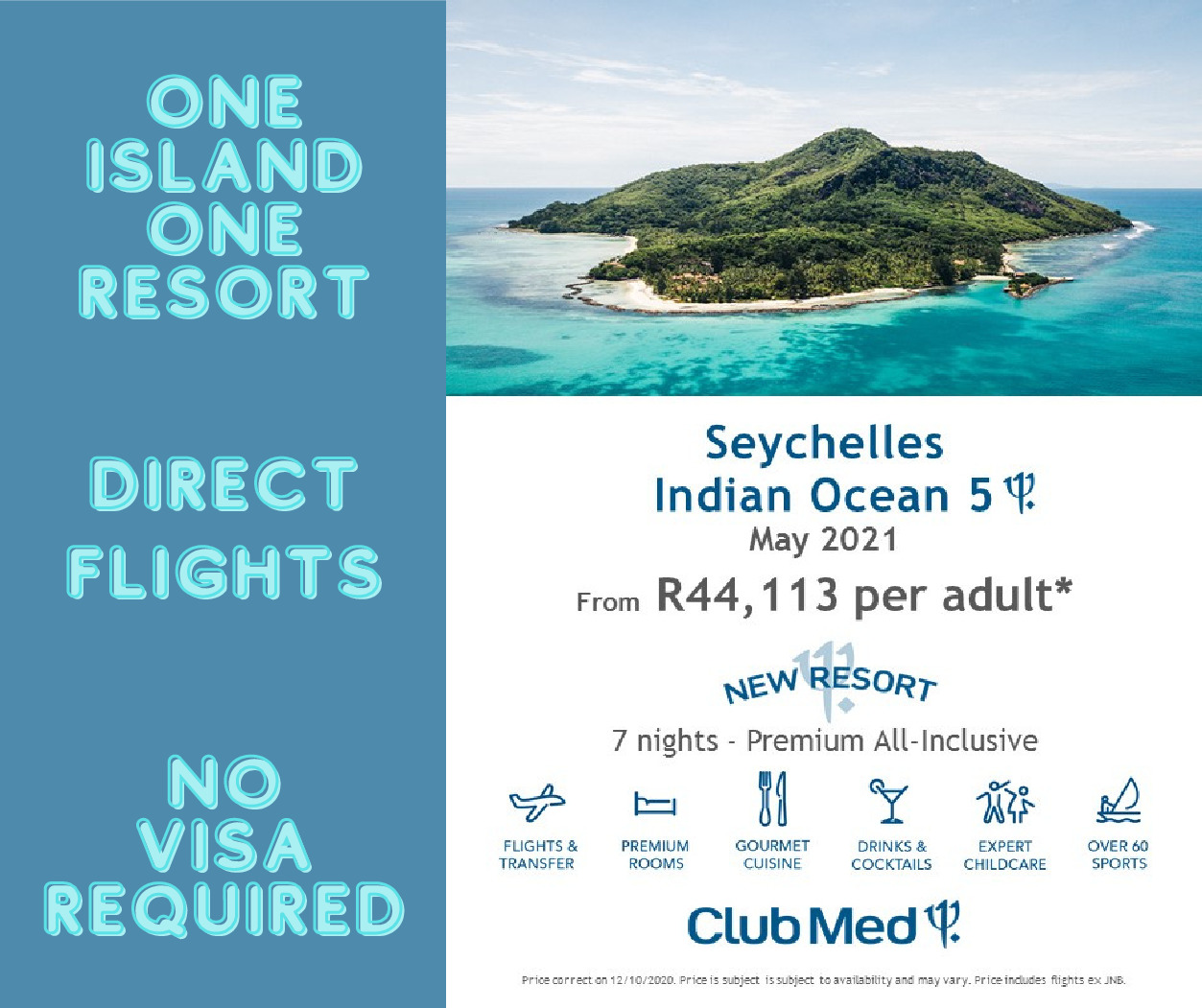 Club Med Seychelles – May 2021