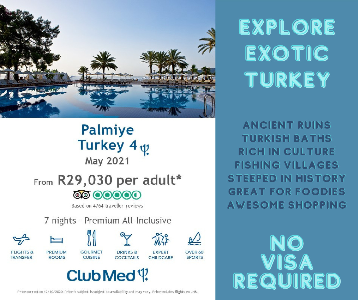 Club Med Turkey – May 2021